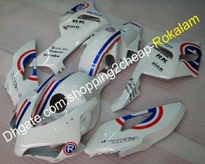 NGK carenatura per Honda CBR 1000 RR 04 05 RK CBR1000RR 2004 2005 1000RR GAS Bianco Carrozzeria Moto Kit Carena (iniezione)