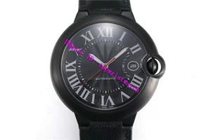 AF Factory Top BALLON BLEU DE WSBB0015 Reloj para hombre Swiss 2892 Reloj de pulsera mecánico automático Zafiro PVD Negro Acero inoxidable a prueba de agua