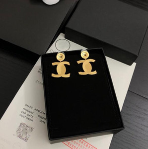 202Designer women earring new classic letter fashion luxury earring with box free shipping Designer Jewelry Women Earrings Designer Earrings