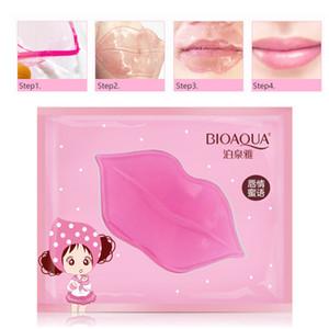 BIOAQUA Gel Lèvres Masque Soin Lèvres Réparateur Hydratant Supprimer les Taches Blemishes Lighten Lip Line Masque Collagène