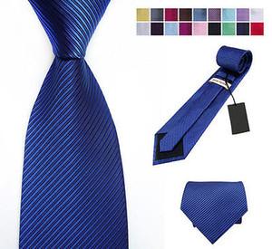 Woven Silk gravata HandMade Laço dos homens Abotoaduras e 148 centímetros Handkerchief Set lenço presente