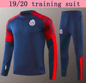 2019 лига MX Club man Chivas de Guadalajara футбол куртка спортивный костюм Survetement 19/20 Мексика взрослый футбол куртка спортивная комплект