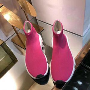 2020 Nuevo calcetín del zapato de lana de Nueva Aire velocidad de punto entrenador de la manera atractiva de punto botas calcetín elástico Hombres Mujeres Casual caminar trotar verano zapatillas de deporte