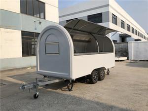 Imbisswagen/Verkaufswagen/ Imbissanhänger/ Verkaufsanhänger  400x200x240cm Weiß