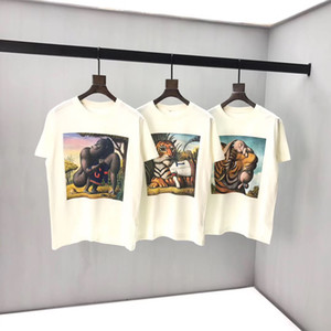 2020ss Mensentwerfer T-Shirt Frauen Markenkleidung Luxus Paris Mode Sommer T-Shirt männliche Top-Qualität aus 100% Baumwolle Top Tees KL7069267