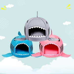 Dog House Shark For Large Dogs Tent High Quality Cotton Small Dog Cat Bed Puppy House Pet Product