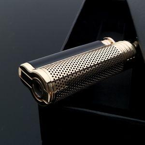 검은 색 포장 좋은 품질 Lubinski 시가 라이터 단일 화염 스포츠 용 재킷의 일종 펀치 88 * 28 * 18MM 절묘한 선물 상자