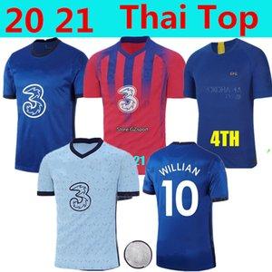 Thailand JORGINHO PULISIC soccer jersey 20 21 home away third HIGUAIN GIROUD KANTE Camiseta de football shirt maillot camisetas