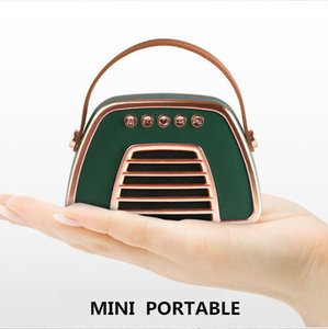 portátil mini altavoz de subgraves bluetooth altavoz del bluetooth portable retro puede personalizar su logotipo
