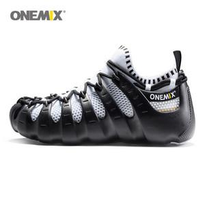 2020 zapatos Onemix Roma del gladiador de los hombres de las mujeres determinadas zapatos deportivos zapatillas de deporte zapatos para caminar al aire libre funcionamiento de calcetín zapatillas de deporte 1230