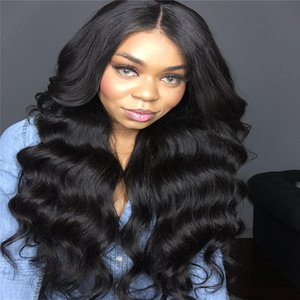8A NEW Hand Tied High Ponytail Virgin Indian Long Full Lace Wigs Glueless Lace Front Human Hair Wigs Water Wave with 150% Density