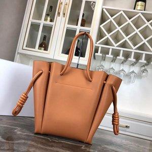 Moda Pelle Borsa Flamenco bag nodo tote Classic Lady Piccolo Totes borse griffate borse di lusso borse delle donne tote bag casuale