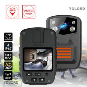 36MP Vücut Aşınmış Kamera HD 1296P Araç DVR Video Kaydedici Polis Güvenlik Kamera 170 Derece IR Gece Görüş Mini Kameralar
