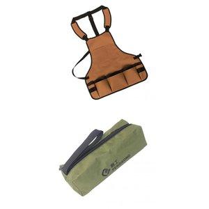 Hardware strumento di archiviazione Carrier Bag Caso Oxford Handy Zip Pouch borsa Outdoor Riparazione coperta Parts Pocket r + Strumento Grembiule