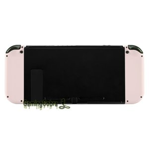 Soft Touch Sakura Pink Controller Housing (D-Pad Version) w  Full Set Buttons DIY Replacement Shell for Nintendo Switch Joy-Con