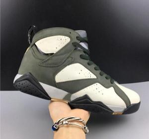 2020 new designer Patta 7 OG SP Icicle Sequoia River Rock Light Crimson Men Basketball Designer Shoes Best Quality