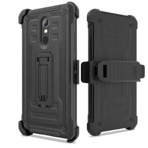 Для LG Q7 G7 Plus K4 K20 K10 K8 Stylo4 3 LV5 LV3 Aristo 2 ударопрочным Броня кобура Defender амортизацией Защитный чехол