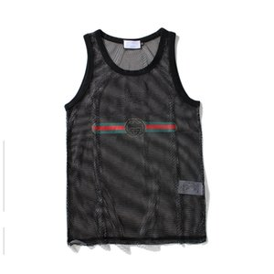 Uomo Canottiera Uomo Sport Bodybuilding Brand Gym Abbigliamento Designer Donna Gilet Tee Luxury Summer Tops Taglia M-XXL