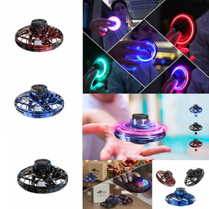 3style Flynova Flying Helicopter Mini Drone Fingertip Fidget Spinner Flight Gyro RC Drone Aircraft Toy Adult Kids led Christmas Gift FFA3350