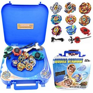 New Beyblade 8pcs Per Set Mobile Arena Stadium Bleyblade Burst Gyro Arena Exciting Duel Spinning Top Bayblade Stadium Bey Blade Blades Toys