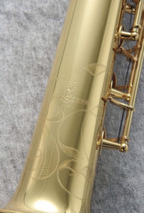 YANAGISAWA S-901 Soprano Saxophone Brass Gold Lacquer Musical Instrument New B Flat Sax Free Shipping with Case Mouthpiece