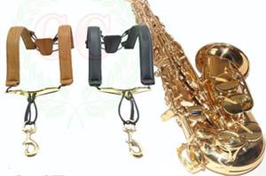 Correa de saxofón correa para el cuello correa para niños estudiantes adultos que dan forma a las correas para el hombro enviar regalos
