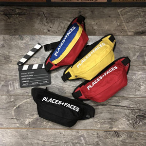 PLACES + Sport Packs Waistpacks doit faire face P + F vie Planches à roulettes Sac mignon Casual Packs Outdoor Hommes Mini Téléphone mobile Packs Sac de rangement
