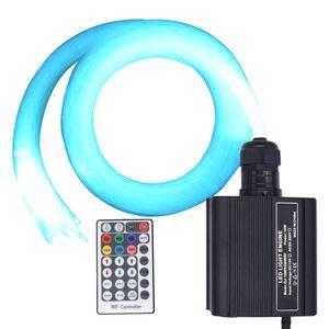 16W RGBW-Neuheit-Licht LED Fiber Optic Sterndeckeninstallationssatz mit 150/200/300/430 Strands 2m / 3m Glasfaserkabel