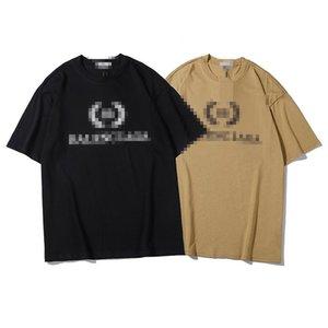 Oversize Mens Designer T-Shirts Summer Fashion Men Women Luxury Top Tees Brand T-shirt Short Sleeves Spring Letter Print T Shirt BG 2060201V