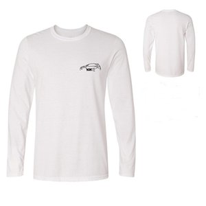 Männer T-Shirt Lose Britische Kleidung Oldtimer Fans Vxr T-SHIRT Inspiriert Günstige Auto T-Shirts Online Herren Langarm T-Shirts