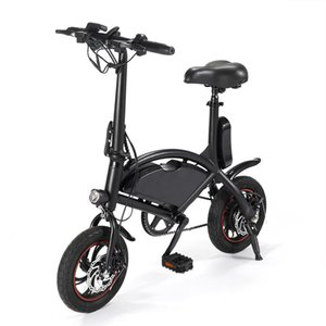 Two-wheeled lithium battery electric bicycle lightweight two-wheeled skateboard travel leisure electric vehicle