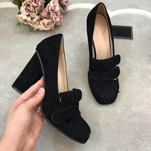 Классический красный Bottom High Heels Платформа обуви Насосы Nude Черный лакированной кожи Peep-Toe Женщины платье свадебные сандалии обувь размер 35-42