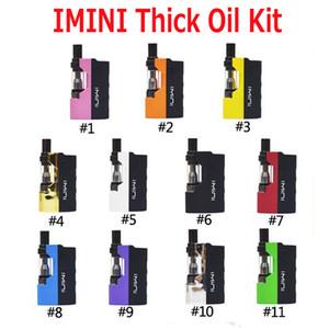 Original Imini Thick Oil Kit Eingebaute 500mAh Batterie Box Mod 510 Gewinde 0.5ml 1.0ml Liberty V1 Tankpatronen Verdampfer Kits 100% Authentisch