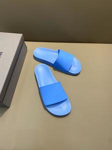2020 HOT Fashion Men women Sandals Slides Summer Luxury Designer Beach Indoor Flat G Sandals Slippers House Flip Flops With sandals