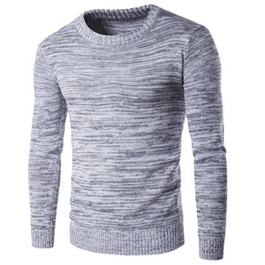 2019 New Man Knitwear Autumn Winter Fashion Brand Men Sweaters Pullovers Knitting Wool Warm Designer Slim Fit Casual Knitted