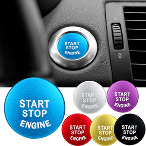 자동차 시작 엔진 버튼 중지 키 액세서리 Bmw 인테리어 액세서리에 대 한 커버 스위치 장식 자동차 스티커를 교체