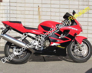 CBR600 F4i Motorbike Bodywork Kit For Honda CBR 600 600F4i 01 02 03 Red Black Motorcycle Fairing Set 2001 2002 2003 (Injection molding)