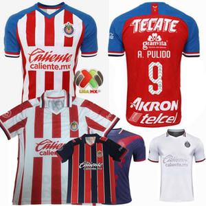 2019 2020 2021 Guadalajara maglie calcio Chivas Regal O.PERALTA I.BRIZUELA A.PULIDO A.VEGA casa lontano camicia 3 ° 20 21 di calcio uomini donne