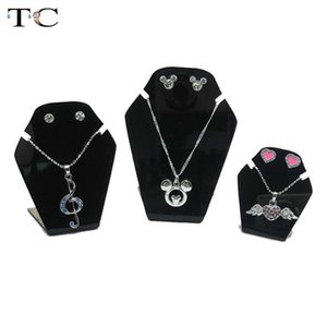 3pcs Acrylic Necklace Earrings Display Frame Jewelry Display Frame Necklace Jewelry Frame Ornament Holder