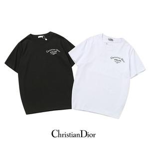 Marke T-Shirt für Frauen-Mann Luxus Kurzarmhemden Mode Tees Design Pullover beiläufige Dame T-Shirt Top-Qualität q5