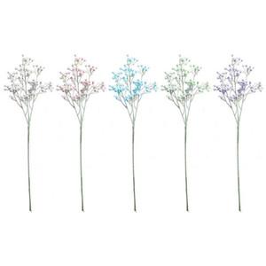Artificial Babysbreath Flower Flocking Simulated Gypsophila Paniculata Tischdekoration Flowers for Family Party Wedding Decor #y