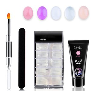 Luxury Nail Extension Gel DIY Kit For Quick Nail Extension Salon Tool Kit (5 Colors)