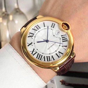 Top Verkauf Uhrmann- Uhren Uhrendesigner 42mm Dial China 2813 automatische mechanische Bewegung Uhr dayjust Großhandel freies Verschiffen