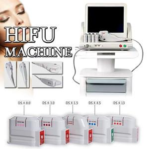 Medical Grade HIFU High Intensity Focused Ultrasound HIFU Face Lift Máquina da remoção do enrugamento Com 5 Heads para rosto e corpo