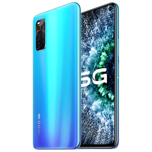 "Original Vivo IQOO Neo 3 5G LTE Mobile Phone 12GB RAM 128GB ROM Snapdragon 865 Octa Core 6.57"" Full Screen 48MP NFC Wake Face ID Cell Phone"