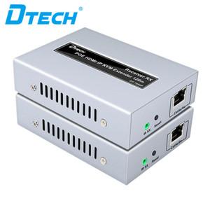 Видеосистема POE IP KVM Extender HDMI 120m CCTV Видео Extender 1080P Удлинитель KVM HDMI