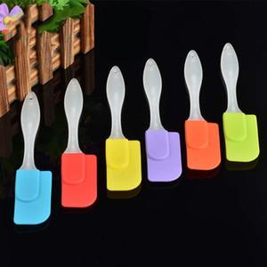 Backen Gadget Silikon Weiche Spatel Kuchen Butter Cream Schaber Hochtemperatur Umweltfreundliche Wohnung Spatel Küche Backwerkzeug VT0529