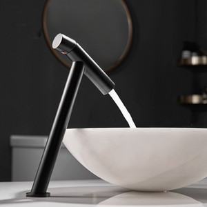 Basin Faucet Retro Black Faucet Taps Bathroom Sink Faucet Single Handle Hole Deck Vintage Wash Hot Cold Mixer Tap Crane