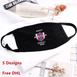 Trump Face Mask Cotton Designer Anti-dust Fashion Men Women Kids Face Mask 5 Styles Reusable washable Mask 200pcs
