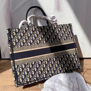 Marka Nakış alışveriş çantası tasarımcı çanta Yüksek kapasiteli bayanlar mektup taşımak omuz çantası ücretsiz gönderim iki boyut 42cm 35cm